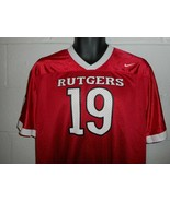 Nike #19 Rutgers Scarlet Knights Football Jersey Youth XL - $19.99