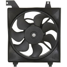 RADIATOR FAN ASSEMBLY HY3115122 FOR 06 07 08 09 10 11 HYUNDAI ACCENT DRIVER SIDE image 3