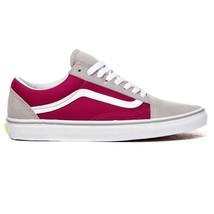 VANS Old Skool Drizzle Sangria Gray Wine Suede Sneakers Womens Size 5.5 - $47.95