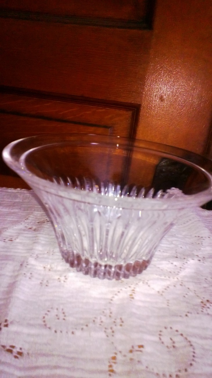 Royal Crystal Rock Candy Dish with Lid 24% Lead Crystal