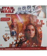 Star Wars-Puzzle 1 of 3 for Panoramic Puzzle 48 Pcs - $7.12