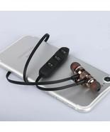 Bluetooth Headphone Earphone Magnetic Earpiece Stereo Wireless Headset E... - $12.37+