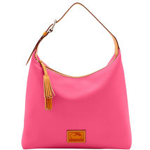 Dooney & Bourke Patterson Hot Pink Leather Larg... - $479.99