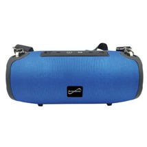 Supersonic SC-2327BT- Blue Portable Bluetooth Speaker with True Wireless... - $55.74 CAD