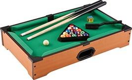 Mainstreet Classics 20-Inch Table Top Miniature Billiard/Pool Game Set - $26.87