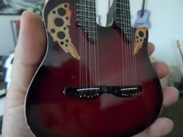 Richie Sambora - 1980 Ovation Double-Neck 1:4 Nachbildung Gitarre~Neu~ image 2