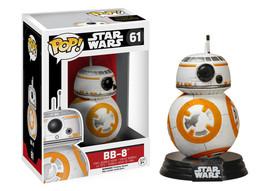 Star Wars The Force Awakens BB-8 Droid Vinyl Pop Figure Toy #61 Funko New Nib - $8.79