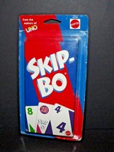 Mattel Skip-Bo Card Game #42050 New Worn Package 1999 Makers Of UNO (c) - $32.66