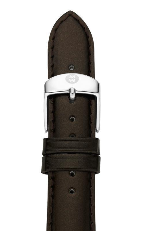 Michele MS16AA050206 Women's Brown Espresso Genuine Patent Leather Watch Band - $55.99