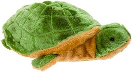 Silver Lilly Turtle Slippers - Plush Novelty Sea Animal Slippers (X-Large) - $30.42