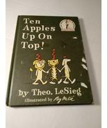 Dr Seuss~ Ten Apples Up On Top~ Beginner Books 1961 - $7.91