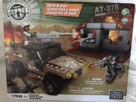 Mega Bloks True Heroes Military AT-278 Patrol Army Assault Set Build Kit - $18.99