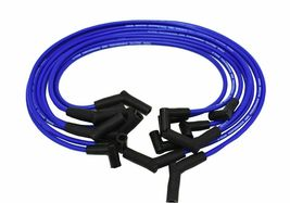 FORD SMALL BLOCK 289 302 351W HEI BLUE 8mm SPIRAL CORE SPARK PLUG WIRES image 3