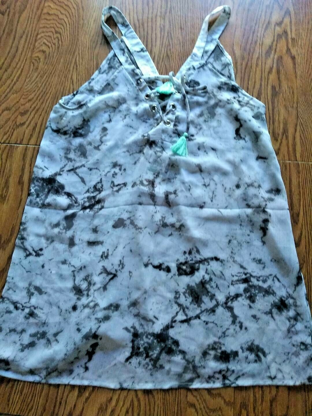 Miken Swim Just Marble Beach Cover Up Size Large