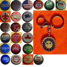 Constellation sign Scorpio Coke Sprite Diet pepsi & more Soda beer cap Keychain