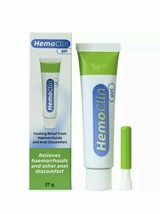 Hemoclin Gel 37g. Natural Treatment Prevention of Hemorrhoids Discomforts - $31.36