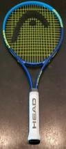 Head Ti Conquest Nano Titanium neon Blue Yellow Tennis Racket nice Grip 4 1/2-4  - $22.43