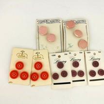 Vintage Lansing  LaMode Supreme Quality Carded Pink Red Burgundy Lot 20  - $19.79
