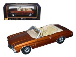 1971 Chevrolet Chevelle SS 454 Convertible 1:18 Diecast by Maisto - $55.46