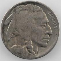 1916-S Buffalo Five Cent Nickel 5C (Fine, F Condition) - $20.79