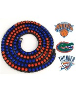 Florida Gators NY Knicks OKC Thunder Westbrook Iced Out CZ Bling Necklac... - $14.01