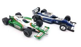 Bburago Williams FW14 Racing Car 1:24 + 2009 Hot Wheels Indy Car Tony Kanaan - $13.42