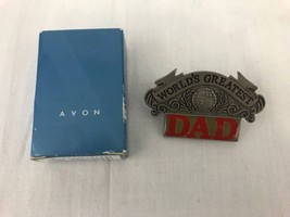 Avon World's Greatest Dad Visor Clip Birthday Father's Day Holiday Gift New - $9.97