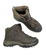 The North Face Men's Sz 8 Storm Mid Waterproof Leather Boot Brown CC81 - $74.44