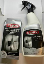 Weiman Stainless Steel Cleaner and Polish - 22 Ounces Microfiber Cloth T3 - $24.75