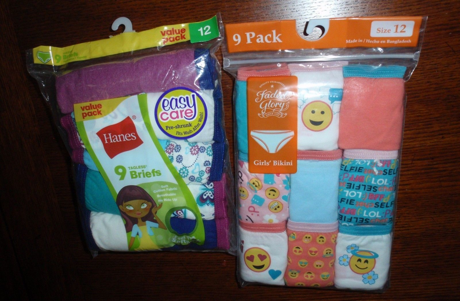 70b0f59e397f Lot Of 18 Hanes & Faded Glory Girls and 24 similar items. S l1600
