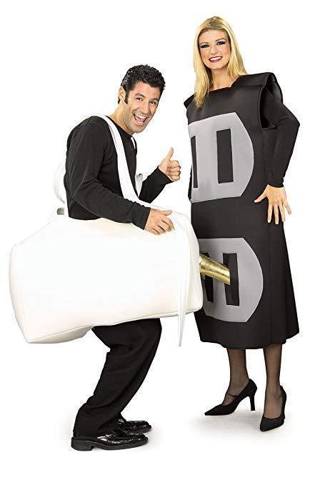Rubies Stecker & Buchse Lustig Erwachsene Electrical Paar Halloween Kostüm 16955