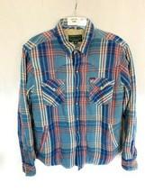 Men's Polo Country Ralph Lauren Plaid Button Down Sherpa Jacket Size Medium - $79.19