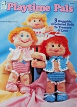 """House of White Birches Crochet Patterns Instructions """"Playtime Pals"""" 101067 - $5.44"""
