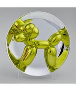 Jeff Koons Yellow Balloon Dog Sculpture Numbered Ltd. Edition Dealer JKL... - $8,909.01
