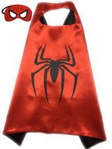 Superhero Cape+Mask Batman Spider man  Boys Girls Halloween  Party - $11.88