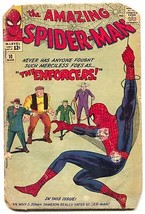 Amazing Spider-Man #10 1964-The Enforcers-Steve Ditko- FAIR - $138.71