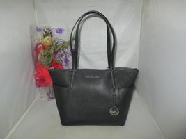 Michael Kors Handbag Jet Set Item E / W Top Zip Saffiano Leather Tote Ba... - $119.99