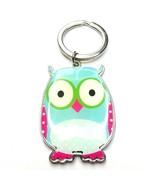Z61 colorful enamel owl keychain - $17.82