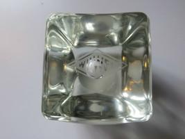 Vtg Original Sehr Alt Wil -wel Werbung Massives Glas Display Briefbeschw... - $166.93