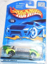 """2001 Hot Wheels """"Krazy 8's"""" Collector #179 Mint Car on Sealed Card - $3.00"""