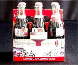 Vintage Coca Cola Classic 6 Pack Collection AB 10 image 5
