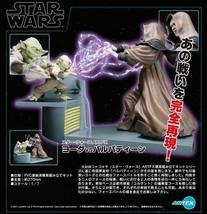 Beauty goods Kotobukiya ARTFX Yoda Vs Emperor Star Wars Palpatine - $446.59