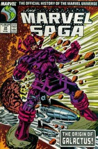 The Marvel Saga: The Official History of the Marvel Universe #24 (Marvel... - $7.99