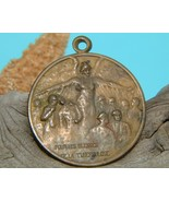 Rene Lalique 1917 Medallion Brass Tuberculosis ... - $59.95