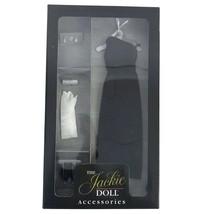Franklin Mint Jackie Classic Elegant Black Sheath Ensemble Doll Clothing... - $32.68
