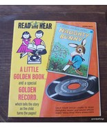 Vintage Naughty Bunny Read and Hear Book w/Reco... - $20.00