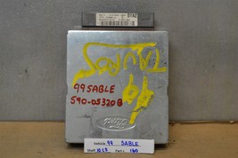 1999 Mercury Sable Taurus Engine Control Unit ECU XF1F12A650JC Module 60... - $9.89
