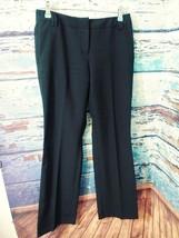 New York & Company black slacks dress pants career business  size 2 - $17.14