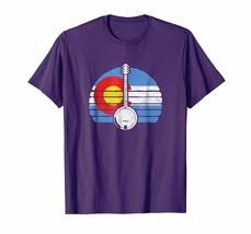 Teacher Style - Colorado Flag Banjo Design - Retro Bluegrass Fan T-Shirt... - $19.95+
