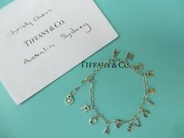 100% Genuine Tiffany & Co amour charm bracelet - sterling silver - $214.54